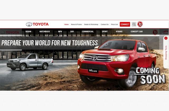 Toyota rục rịch trình làng Hilux mới
