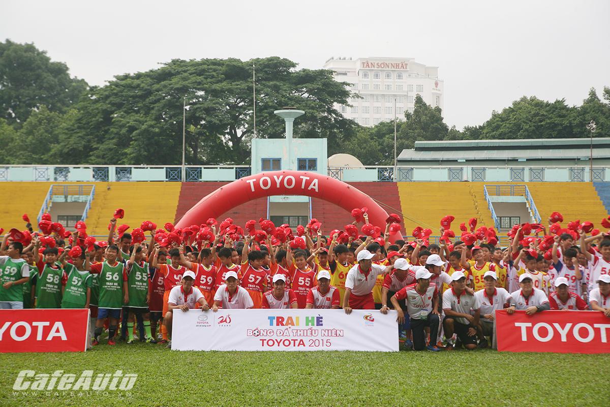 Toyota tổ chức trại hè bóng đá thiếu niên 2015 tại Tp Hồ Chí Minh