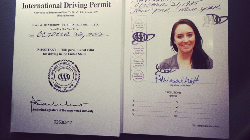 Từ tháng 10, cấp giấy phép lái xe quốc tế sử dụng tại 85 quốc gia