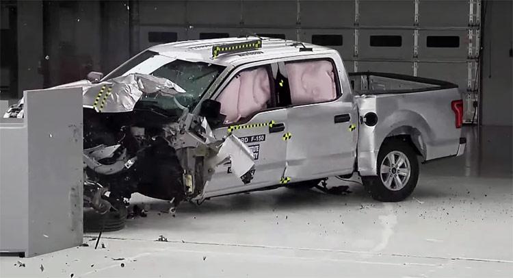 Ford F150 được đánh giá là mẫu bán tải an toàn nhất