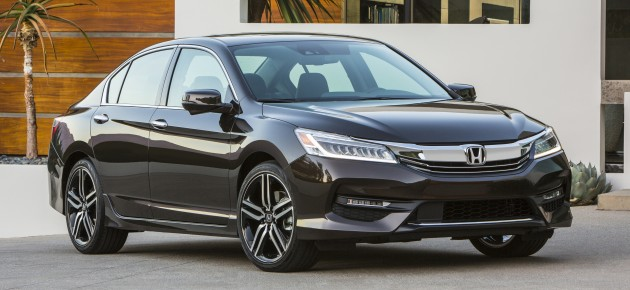 Honda Accord 2016 mạnh mẽ và nhiều công nghệ hơn
