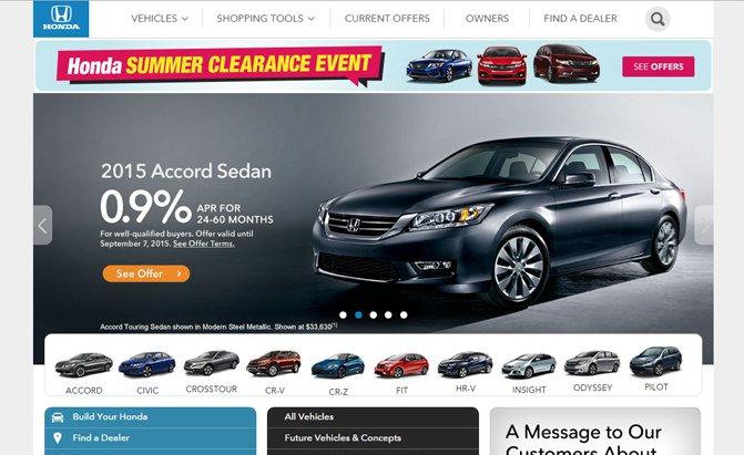 JD Power: Honda có website ôtô xấu nhất