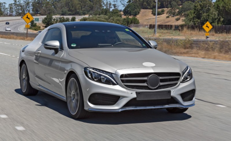 "Mercedes-Benz C-class Coupe 2016 tiếp tục lộ ảnh ""nóng"""