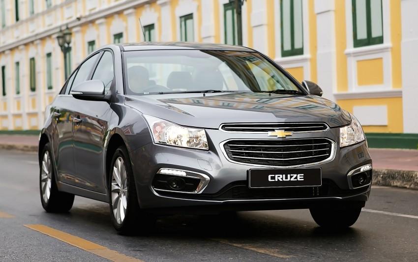 Chevrolet Cruze 2015 ra mắt tại Thái Lan