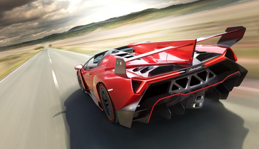 Siêu xe HyperVeloce mới của Lamborghini chuẩn bị ra mắt