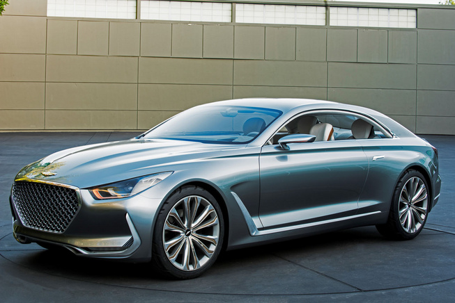 Hyundai ra mắt Vision G Coupe concept