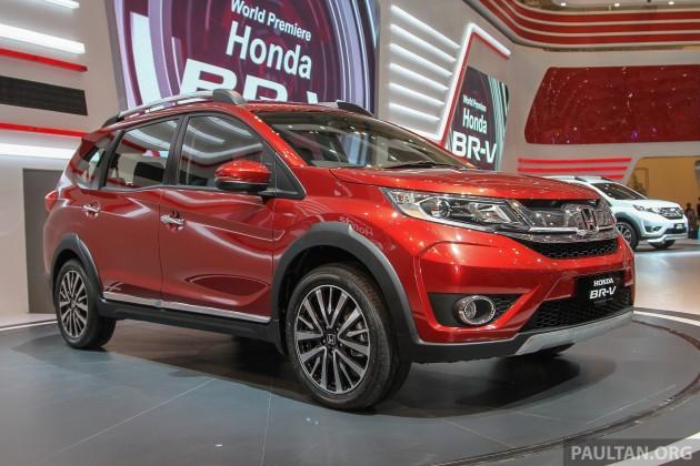 Cận cảnh Honda BR-V giá 368 triệu đồng mới ra mắt