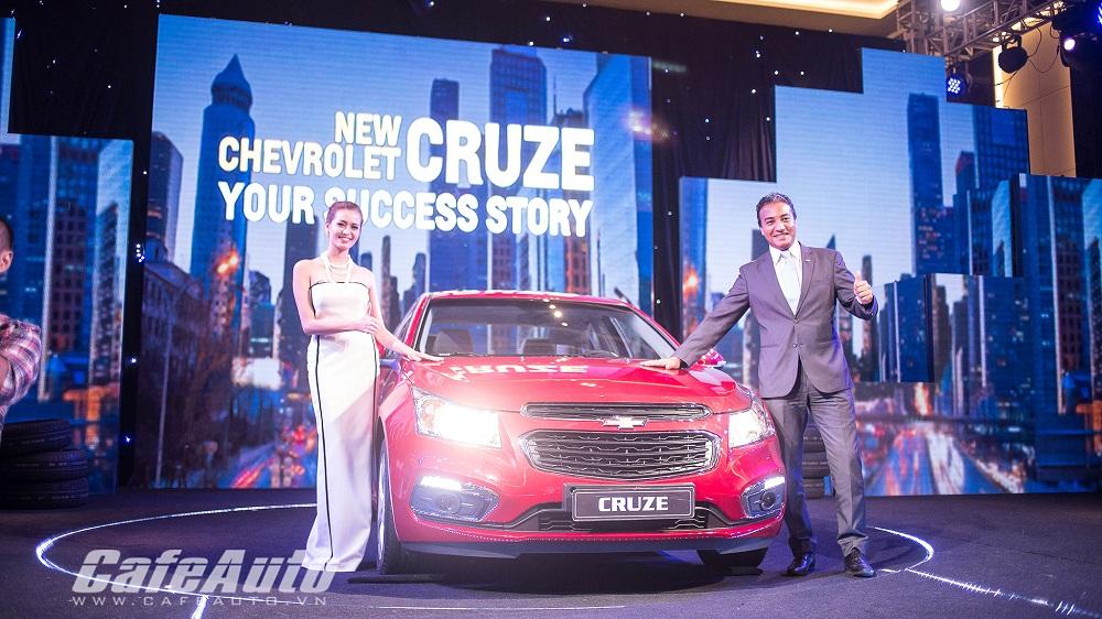 Giá từ 572 triệu đồng, Chevrolet Cruze mới chào người tiêu dùng Việt