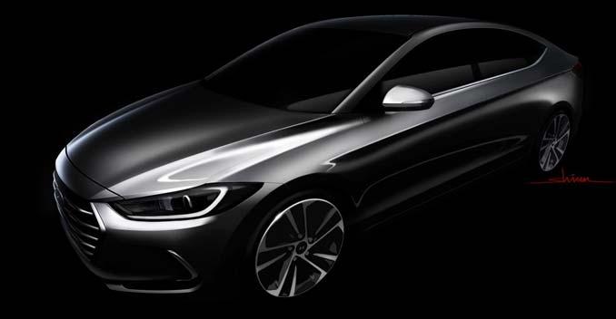Hyundai Elantra 2016 hứa hẹn có nhiều đột phá về thiết kế