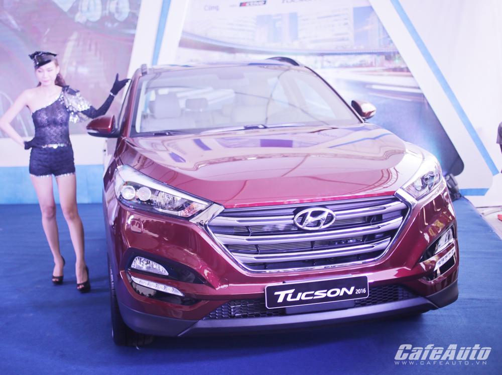 Hyundai Tucson 2016 chính thức ra mắt thị trường Việt Nam