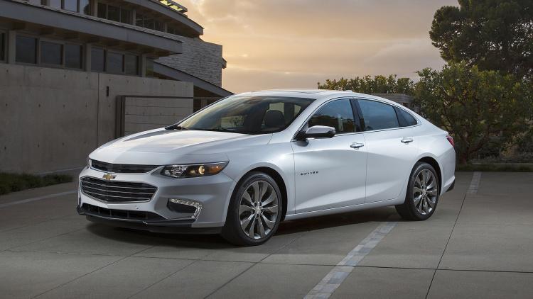 Chevrolet Malibu đạt mốc 10 triệu xe được bán ra