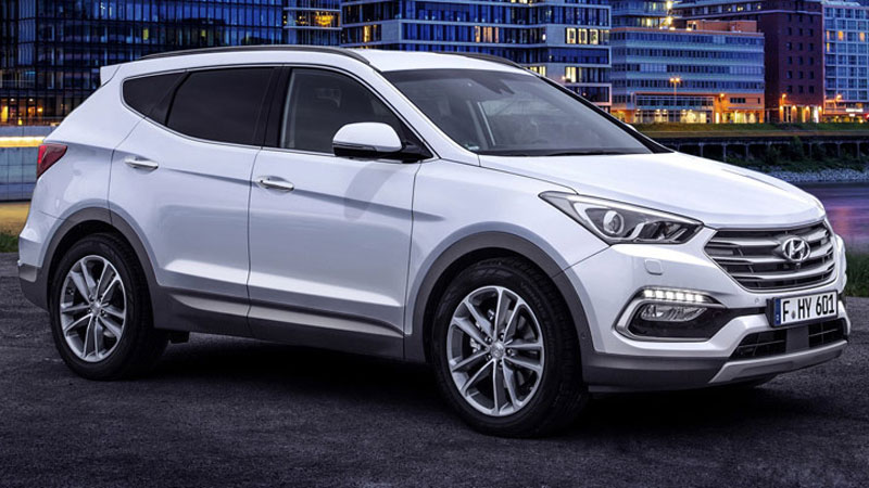 Vén màn bí mật facelift Hyundai SantaFe 2017