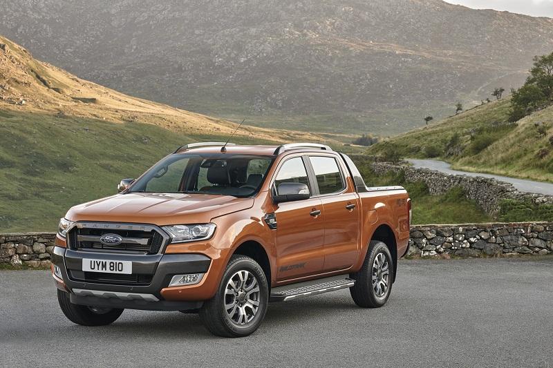 Ford Ranger facelifted sắp ra mắt tại châu Âu