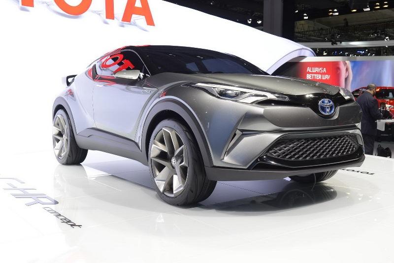 C-HR concept: Tiêu chuẩn thiết kế tương lai của Toyota