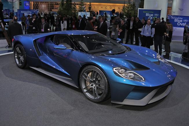 Ford GT sản xuất giới hạn chỉ 200 chiếc