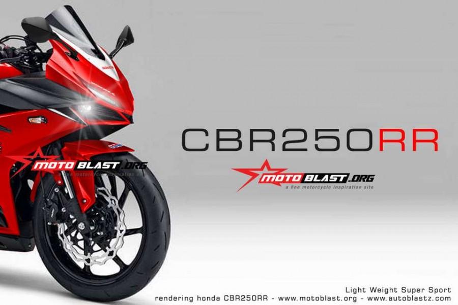 Honda CBR250RR đối thủ mới của Yamaha R25
