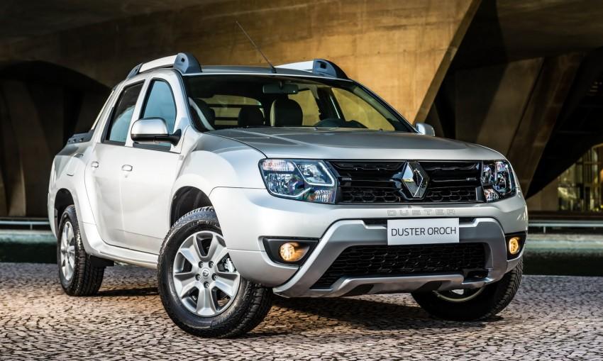 Renault Duster Oroch sắp ra mắt tại Việt Nam?