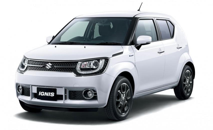 Suzuki mang crossover cỡ nhỏ tới Tokyo Motor Show 2015