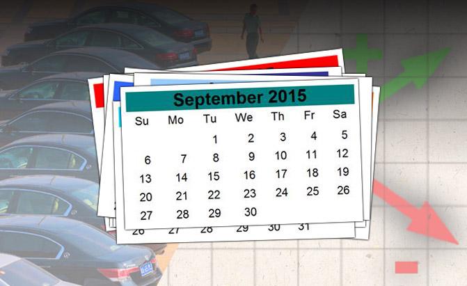 Thị trường Ô tô tháng 9/2015: Kẻ khóc người cười