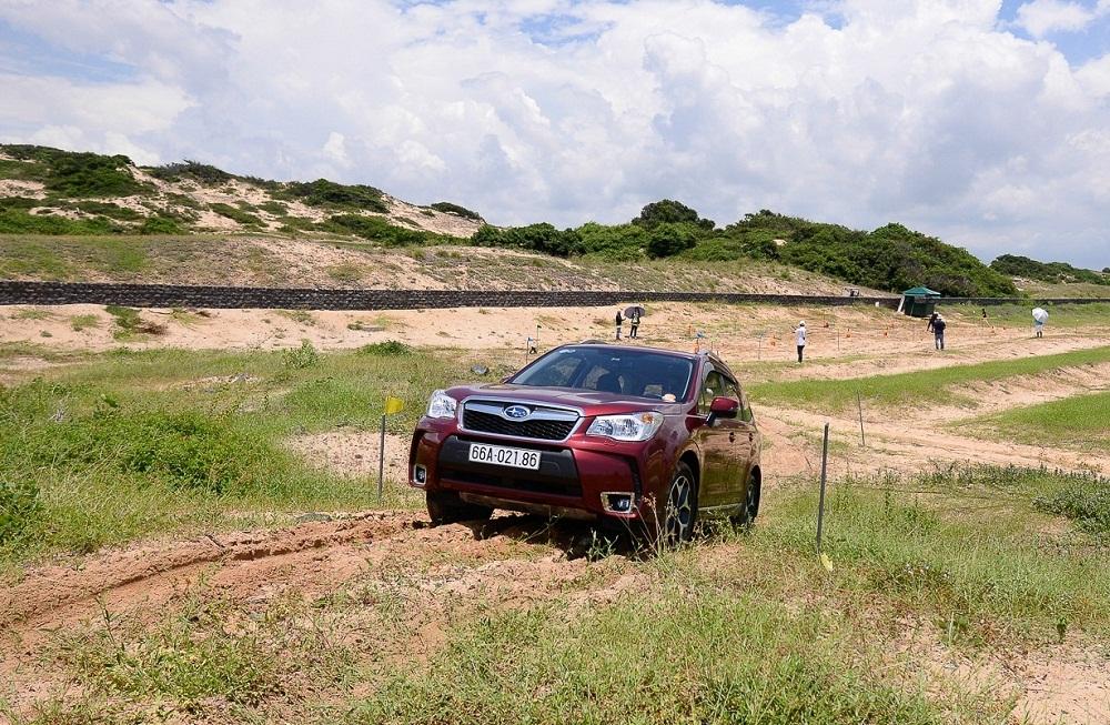 Trải nghiệm off-road Subaru S-AWD ngay trong thành phố