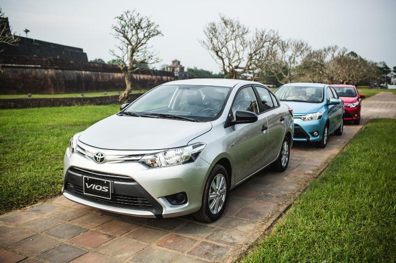 36.145 xe Toyota được bán tại Việt Nam trong 9 tháng