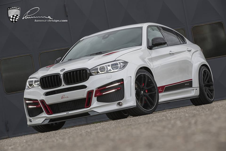 "BMW X6 ""cực ngầu"" qua gói độ Lumma Design"