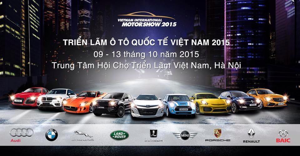 Trực tiếp khai mạc Triển lãm Ô tô Quốc tế Việt Nam 2015