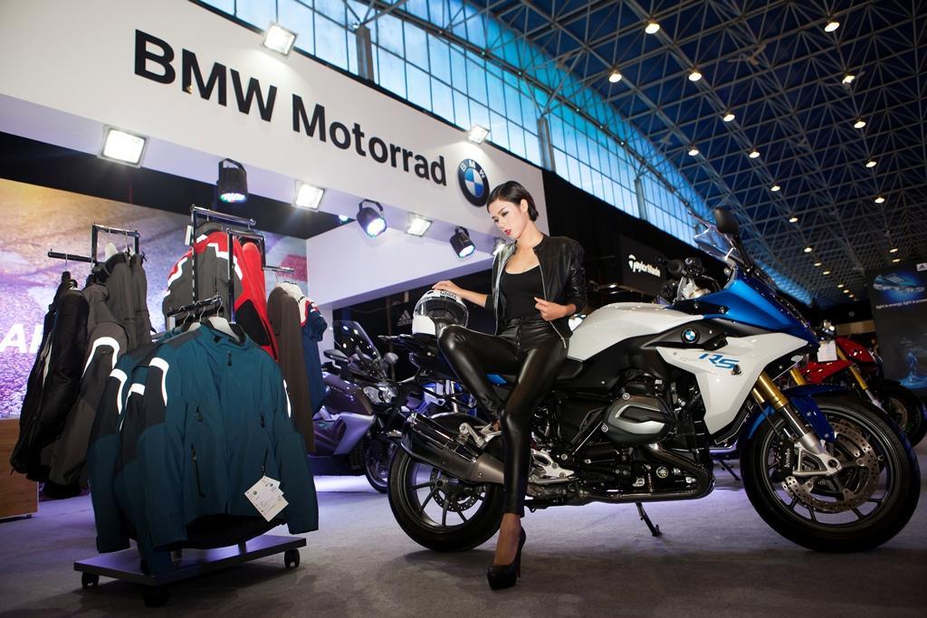 Dàn xe BMW Motorrad khuấy động VIMS 2015