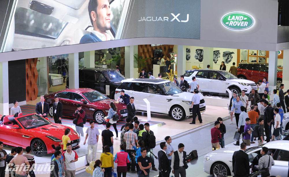 Jaguar Land Rover – mang chất Anh tới VIMS 2015