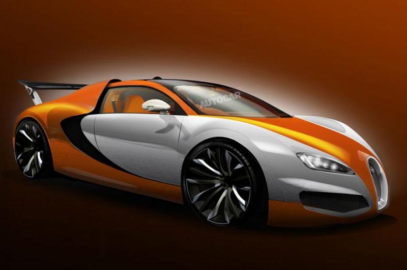 """Phiên bản """"kế thừa"""" Bugatti Veyron sẽ bị hoãn lại?"""