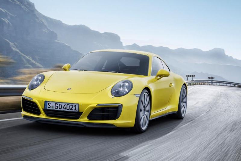 Porches công bố giá bán 911 Carrera và Targa