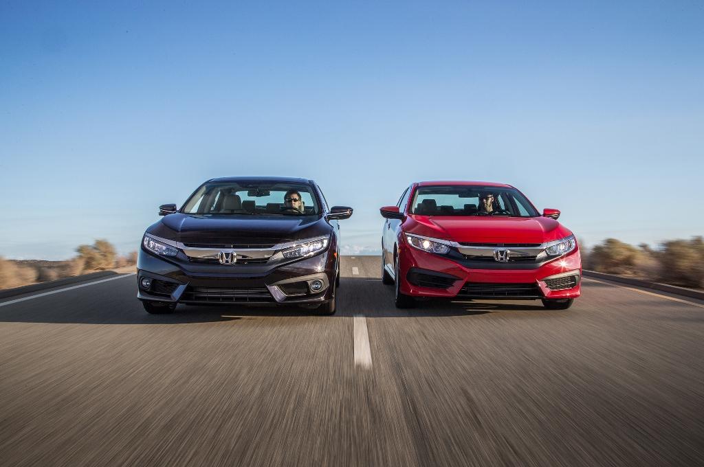 Rò rỉ giá bán Honda Civic Sedan 2016