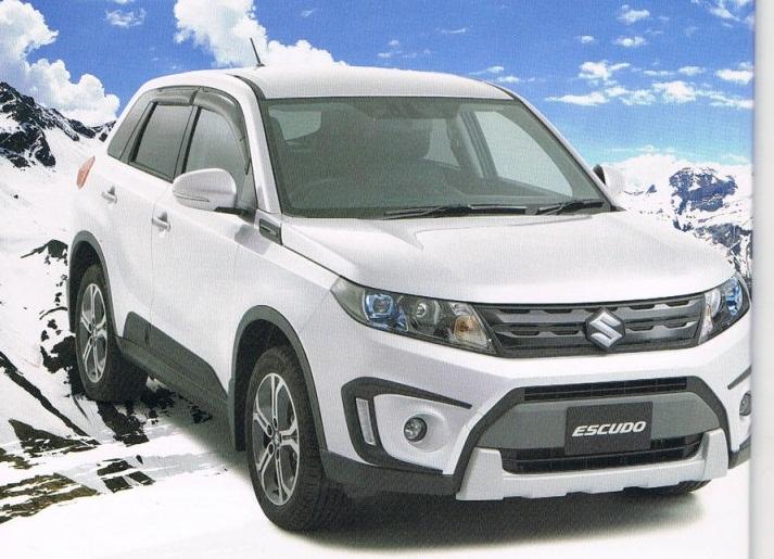 Suzuki Vitara 2016 rò rỉ hình ảnh trước khi ra mắt