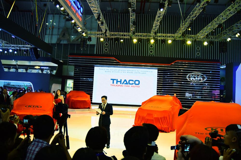 Điểm mặt những mẫu xe nổi bật của Thaco tại VMS 2015
