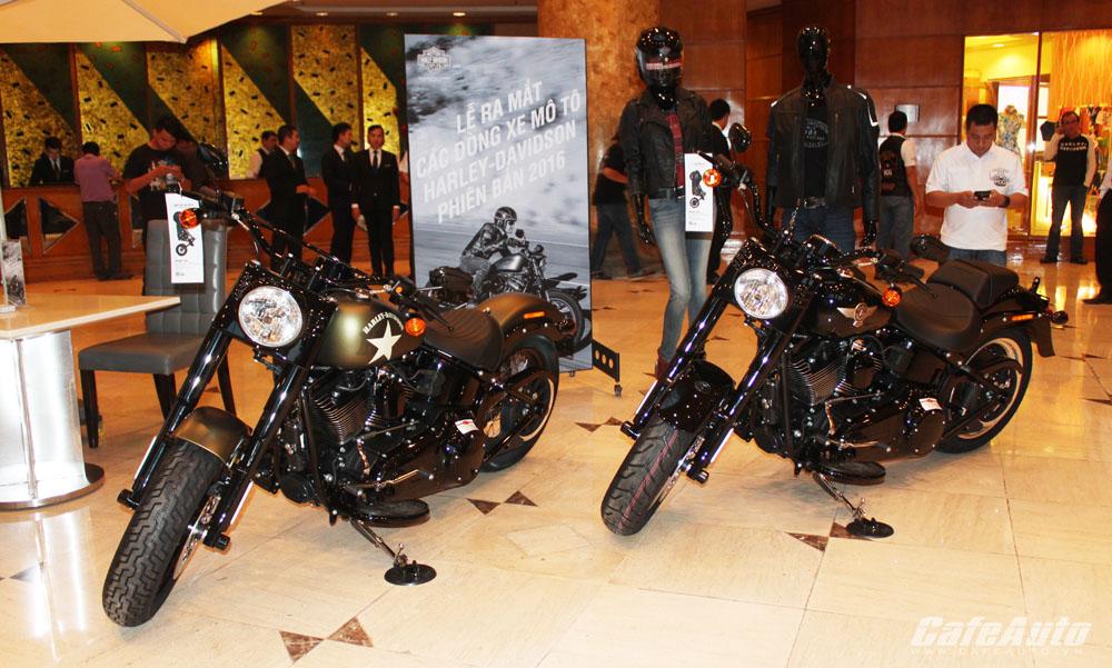 Harley-Davidson ra mắt các dòng sản phẩm 2016 tại Việt Nam