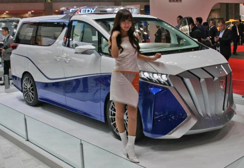 Mẫu MPV hầm hố mới nhất của Toyota tại TMS 2015