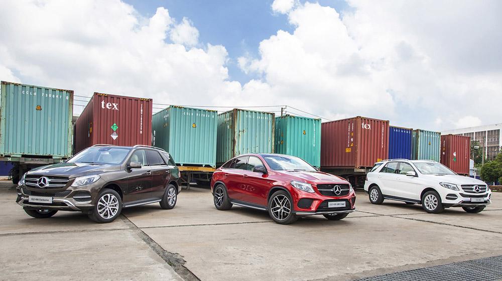 Mercedes-Benz Việt Nam chốt giá GLE và GLE Coupe trước ngày ra mắt