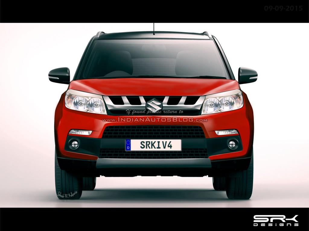 Suzuki Maruti YBA đối thủ mới của Ford EcoSport