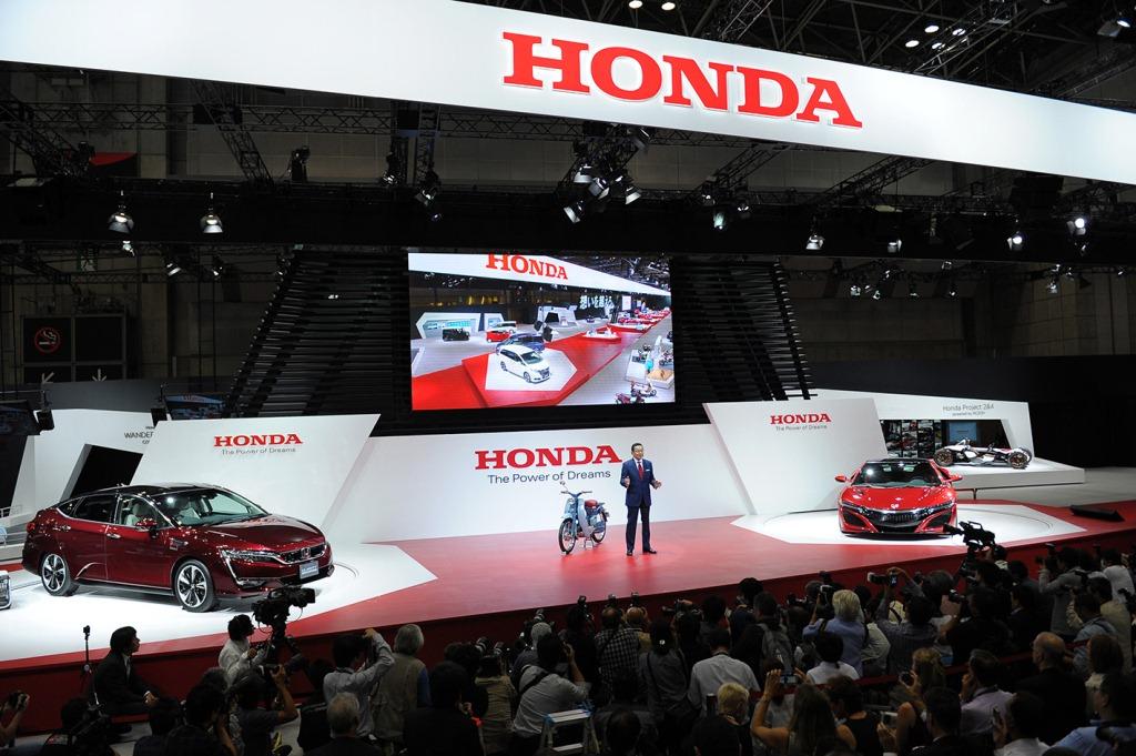 Tổng quan gian hàng Honda tại Tokyo Motor Show 2015