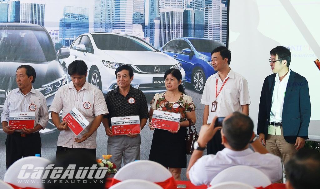 Honda Giải Phóng khai màn chương trình tri ân khách hàng