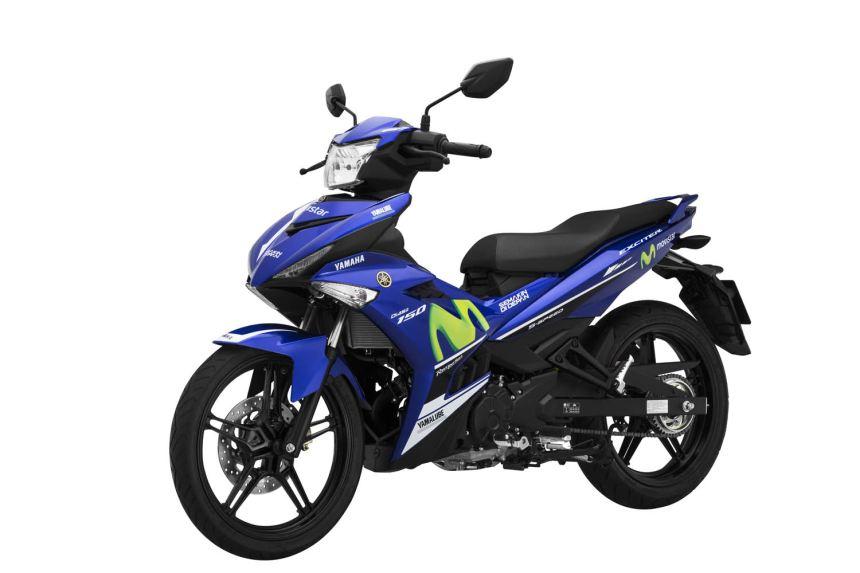 Yamaha Exciter 150 thay tem mới, giá  45,9 triệu đồng