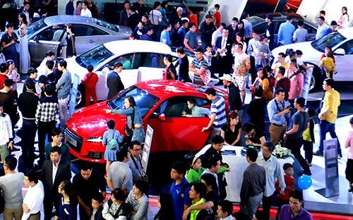 Bùng nổ sức mua ôtô
