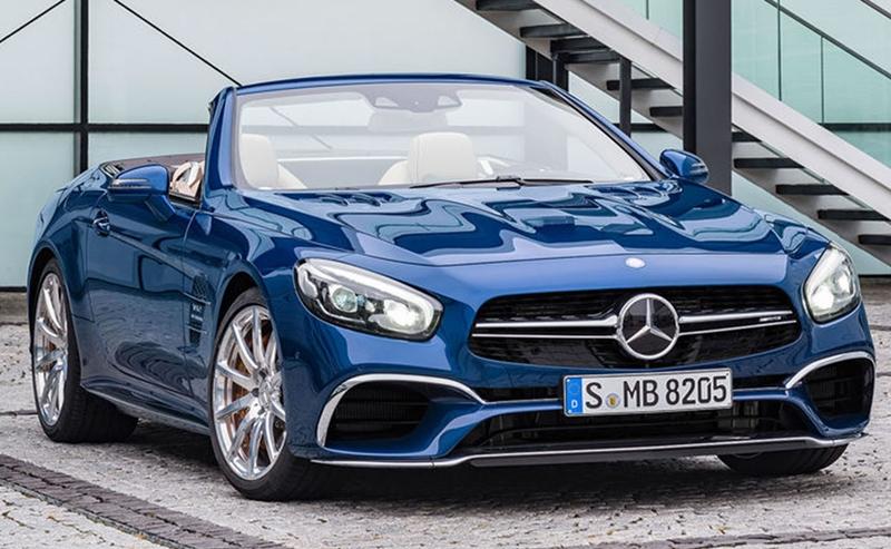 Mercedes SL 2016 chính thức lộ diện