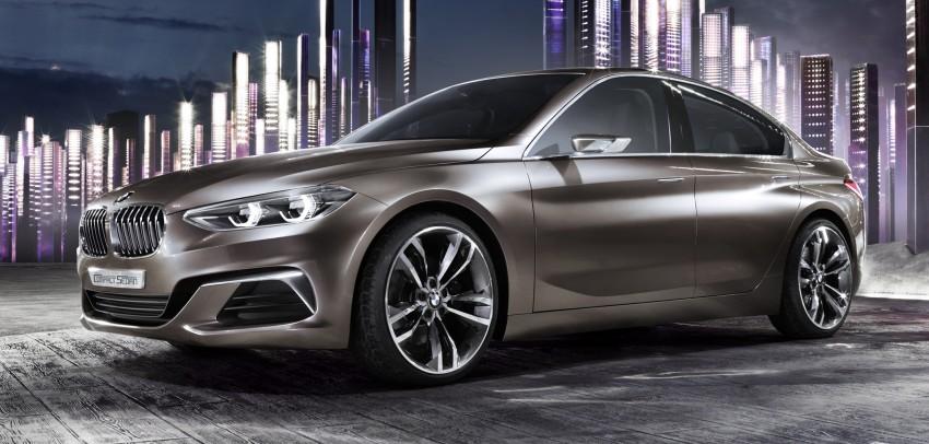 BMW ra mắt compact sedan mới nhất tại Guangzhou Auto Show 2015
