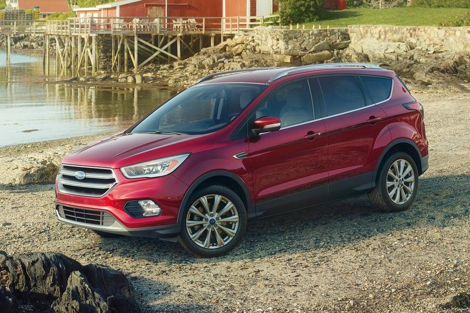 Ford Escape 2017 sẽ ra mắt tại triển lãm Los Angeles 2015