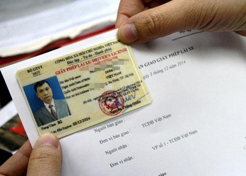 Hướng dẫn thủ tục đổi giấy phép lái xe 2 bánh