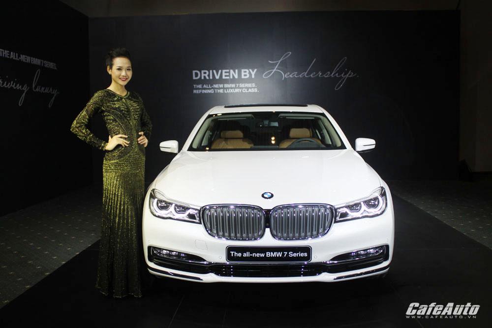 BMW Series 7 2016 chính thức ra mắt tại Việt Nam