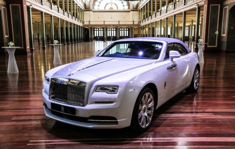 Cận cảnh Rolls-Royce Dawn 2016 mới nhất