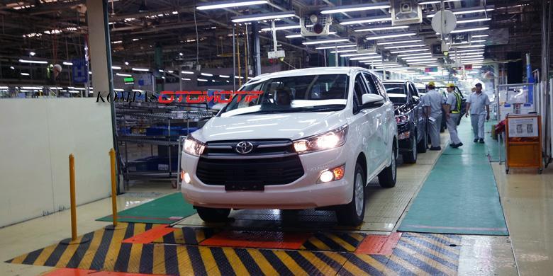 Mỗi chiếc Toyota Innova 2016 được lắp ráp trong 90 giây