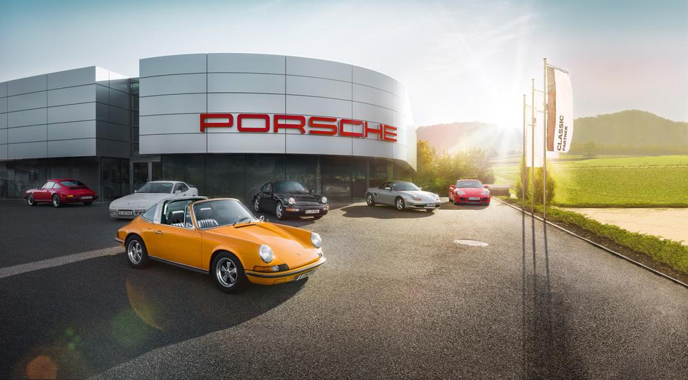 Porsche xây dựng trung tâm dành cho xe cổ đầu tiên trên thế giới